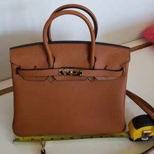 Handbags - Genuine leather Birkin inspired bag